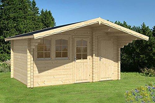 Casa de jardín Pedro A 70, casa de madera de 445 x 320 cm, 70 mm