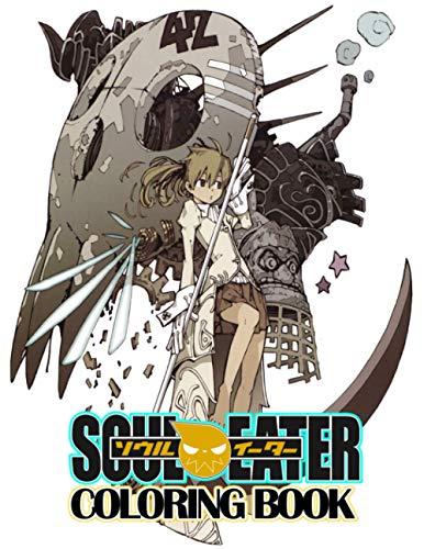 Soul Eater Coloring Book: Fun Soul Eater...
