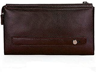 Small Leather Bag For Men Brown Color