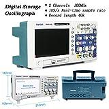 Hantek DSO5102P Osciloscopio digital, 2 canales, 1 GSa / s muestra en tiempo...