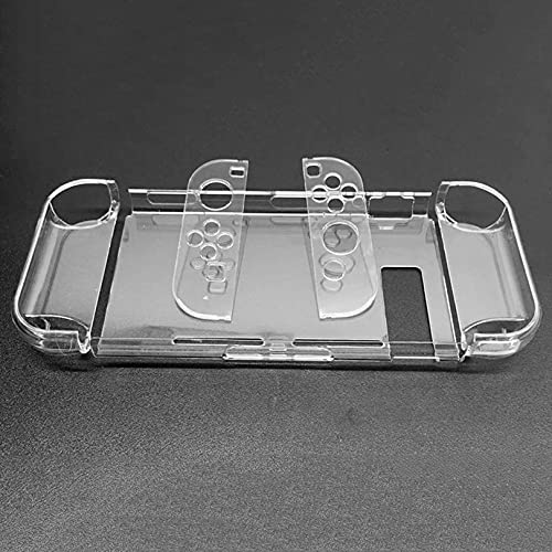 #N/D Cubierta de protección de PC dura para Nintend interruptor desmontable cristal plástico Shell caso soporte TV base consola controlador suministros
