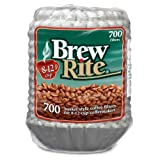 Brew Rite Coffee Filter-700 ct, 8-12 Cups, White