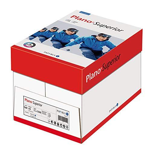 Papyrus 88026787 Drucker-/Kopierpapier Premium PlanoSuperior DIN A4, 5x250 Blatt, matt, weiß ,160 g/m²