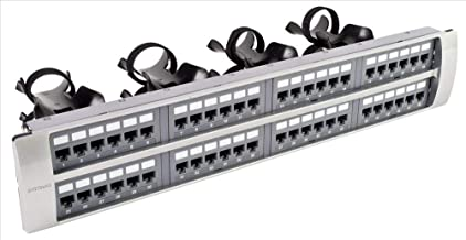SYSTIMAX 360™ 1100GS3 EVOLVE 48-PORT FLAT CAT6+ PATCH PANEL