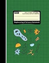 Engineering & Science Notebook : Squared Graphing Quad Rule & Collage Ruled: Combination Rules Note book : Diary, Journal Graph , Coordinate , Grid , ... 120 pages (Composition Note Book) (Volume 3)