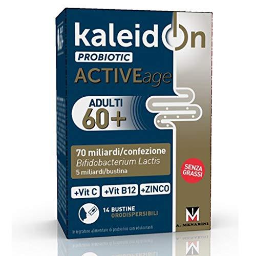 Kaleidon Probiotic Active Age Integratore di probiotici e vitamine 14 Bust. Oro