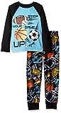 Komar Kids Boys' Big 2 Piece Microfleece Pajama Set, Sports, Medium