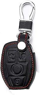 YIKA Porte-cl/és en acier inoxydable avec logo AMG3D Noir