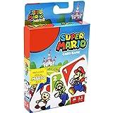 Super Mario Juego de cartas UNO Junior, juego de mesa para niños con dibujos de animales
