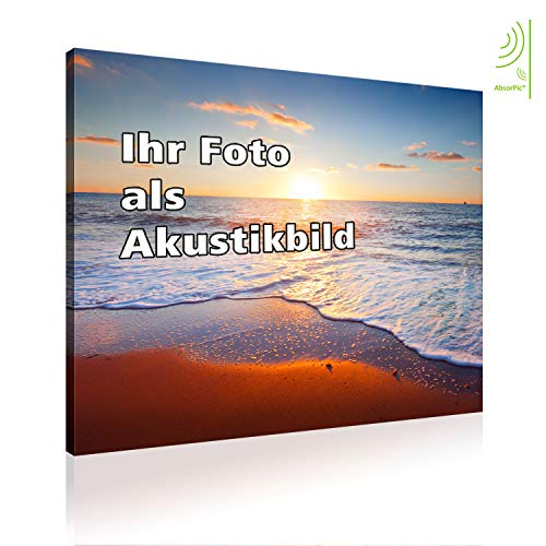 AbsorPic Akustikbild mit Ihrem Foto - Made in GERMANY