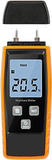 Wood Moisture Meter, Upgrade Moisture Detector Wood Portable Water Moisture Tester for 8..