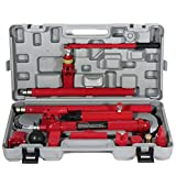 SCITOO 10 Ton Porta Power Hydraulic Jack Body Ffor Rame Repair Kits Auto Shop Tool Lift for Ram for Loadhandler Truck Bed Unloader Farm and Hydraulic Equipment Construction