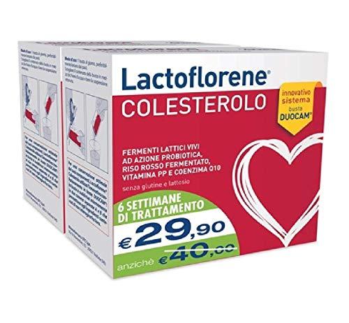 Lactoflorene colesterolo 40 buste (2x20buste)