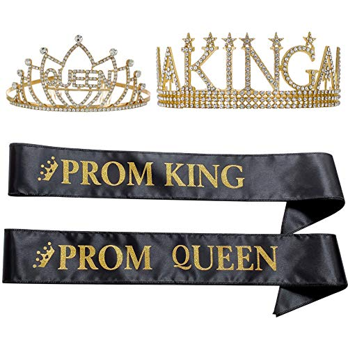 King's Crown and Queen's Tiara, Prom King and Prom...