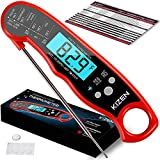 Kizen Digital Meat Thermometers for Cooking - Waterproof Instant Read Food...