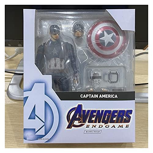 Figura Juguete Capitán Figura de acción Endgame Modelo Juguetes Figura Juguete (Color : with Retail Box)