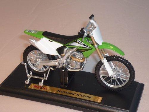 Kawasaki Kx250f Kx250 Kx 250 F 250f GrÜn Enduro 1/18 Maisto Modellmotorrad Modell Motorrad