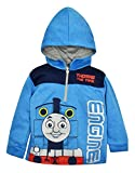 Thomas & Friends the Tank Toddler Boys' Half Zip Pullover Hoodie Blue (3T)