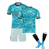 Camiseta de fútbol para hombre, 20 – 21, versión de fanático, compatible con ropa nº 8,...