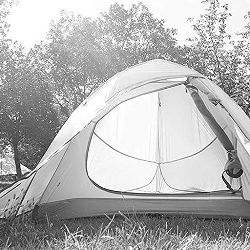 Tents Zelt Außenzelt Doppelregenfestes Zelt 2-3 Personen Camping Zelt Paar Zelt Wanderzelt,Gelb,215 * 180 * 110 cm