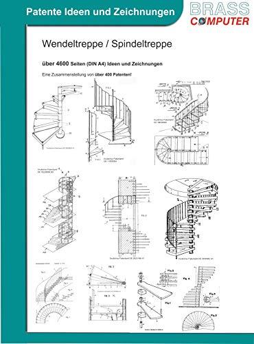 Wendeltreppe / Spindeltreppe, ca. 4600 Seiten (DIN A4) Ideen und Zeichnungen