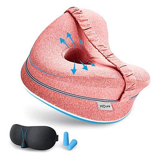 Almohada Piernas Dormir De Lado - Sueño Confortable Comfy Pillow Entre Las Piernas Espuma Memoria Almohadas Ortopédicas para Las Rodillas Ergonómico Cojin Espalda Ciática Almohada Correctora Posicion