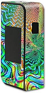 MightySkins Skin Compatible with Sigelei T150 Touchscreen – Psychedelic | Protective, Durable, and Unique Vinyl Decal wrap Cover | Easy to Apply, Remove, and Change Styles | Made in The USA