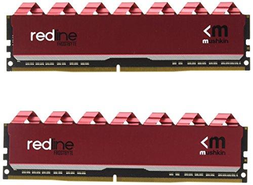 Mushkin DIMM 16 GB DDR4-3200 Kit Arbeitsspeicher, MRA4U320LLLM8GX2, Redline
