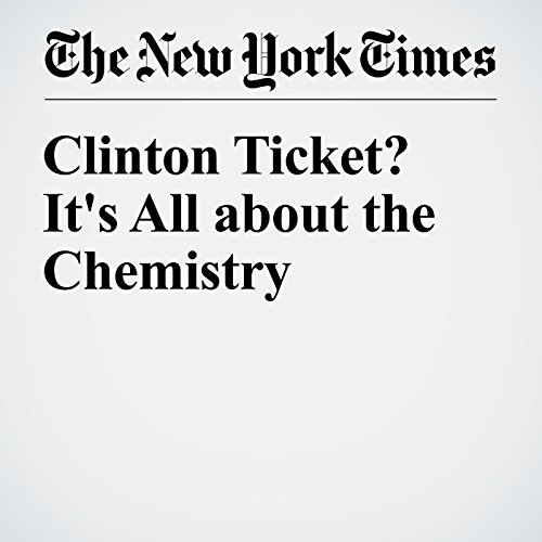 Clinton Ticket? It's All about the Chemistry cover art