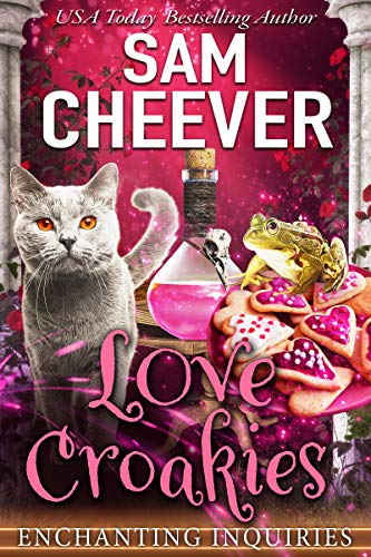 Love Croakies: A Magical Cozy Mystery with Talking Animals (Enchanting Inquiries Book 11) by [Sam  Cheever]