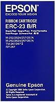 セイコーエプソン ミニプリンター用リボンカセット(黒/赤) ERC-23BR
