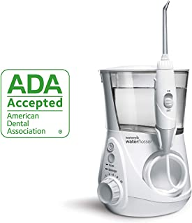 Waterpik Water Flosser Electric Dental Countertop Oral Irrigator for Teeth, Aquarius Professional, WP-660/660C, White, 1 Count