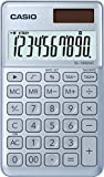 CASIO SL-1000SC-BU - Calculadora, 0.9 x 7.1 x 12 cm, color azul