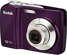 Kodak EasyShare C182 12 MP Digital Camera with 3x Optical Zoom and 3.0-Inch LCD- Purple(Factory Refurbished)