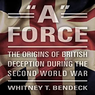 'A' Force audiobook cover art