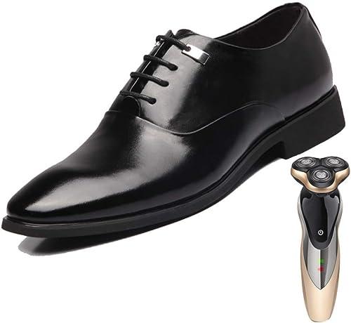 LYZGF, Hommes, Affaires, Affaires, Loisir, Angleterre, Mode, Jeunesse, Dentelle, Mariage, Chaussures en Cuir  service honnête