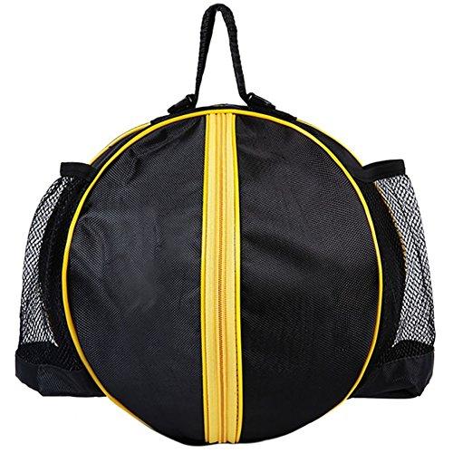 Ronde vorm Ball Bag Basketbal Voetbal Volleybal Rugzak Verstelbare Schouderband Knapzakken Sport Opslag Tassen