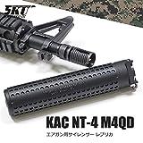 特殊部隊仕様モデル 【Knight's ARMAMENT タイプレプリカ】 M4 QDサイレンサー&専用フラッシュハイダー マルイM4等の14mm逆ネジ対応