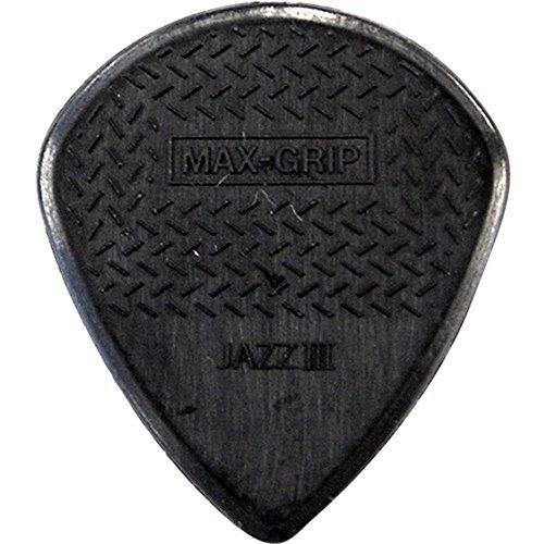 Dunlop 471R3S Max-Grip Jazz III, Black 'Stiffo', 24/Bag