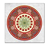 Mandala Poster and Print Art Canvas Painting Living Room Home Mural Decoration 30X30cm