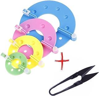 Kit Fazer Pompom 4 Tamanhos (4peças) Fácil de usar