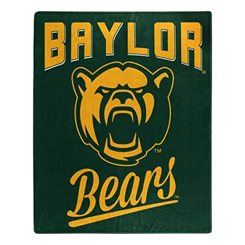 The Northwest Company NCAA Baylor Bears Alumni Raschel Throw Blanket, 50 x 60-inches