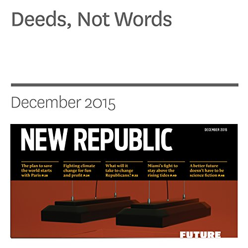 Deeds, Not Words audiobook cover art