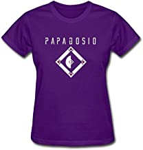 XLHL6OJ Womens Papadosio Extras in A Movie T Shirts 100% Cotton