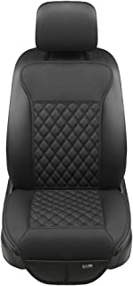 Black Panther Car Seat Covers, Luxury Car Protector, Universal Anti-Slip Driver Seat Cover with Backrest(2 Piece,Black)