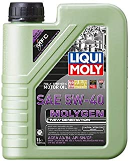 Liqui Moly 20230 Molygen New Generation 5W40 Motor Oil, 33.81 Fluid_Ounces