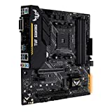 Asus TUF B450M-Plus Gaming Mainboard Sockel AM4 (mATX, AMD B450, DDR4-Speicher, M.2, natives USB 3.1 Gen2, Aura Sync)