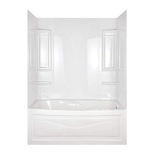 One Piece Tub Shower Units Amazon Com