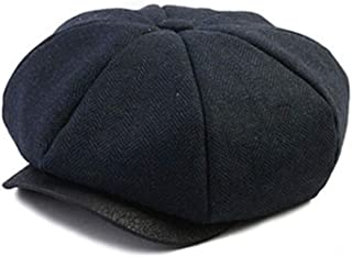 WITHMOONS Newsboy Hat Original Clean Up Adjustable Style Baker Boy Hat MAAD0725