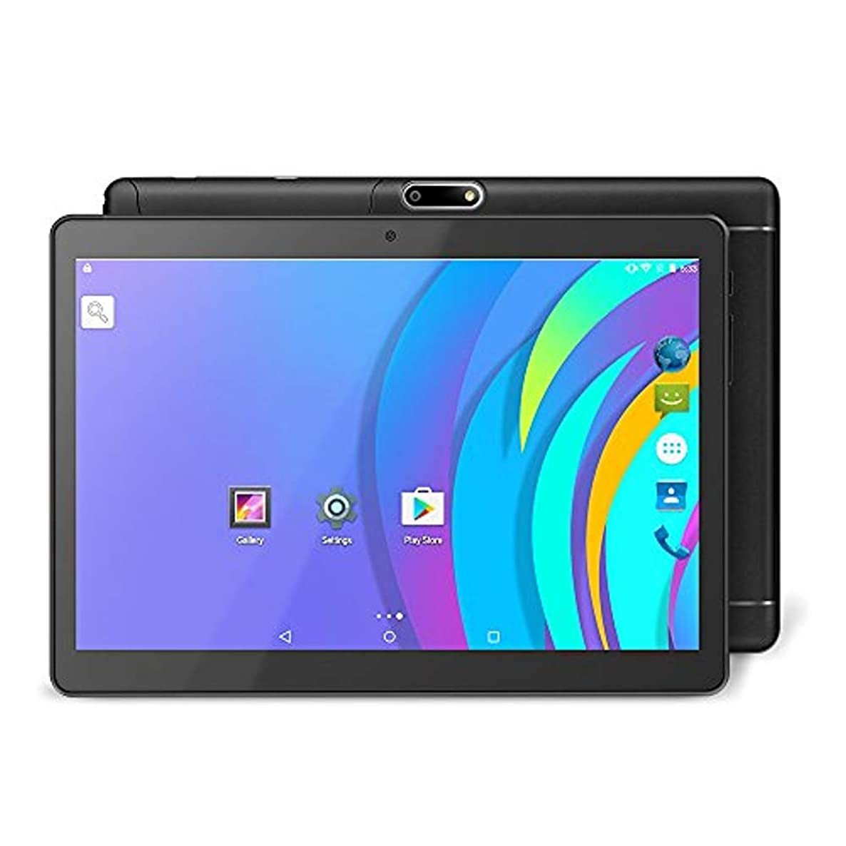 EOANVER K127 9.6 inch Android Tablet/3G Unlocked Smart Phone, Support Dual SIM Card, 16GB Storage, Quad-Core Processor, IPS Touch Screen, Dual Camera & WiFi(Black)